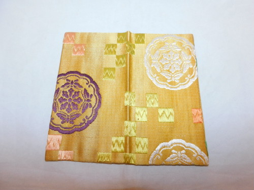 小袱紗a small silk cloth used in the tea ceremony (No8)