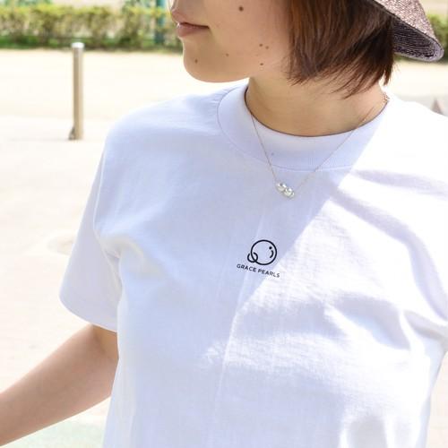 表面オリジナルロゴ入り白Tシャツ PRO CLUB 6.5oz使用