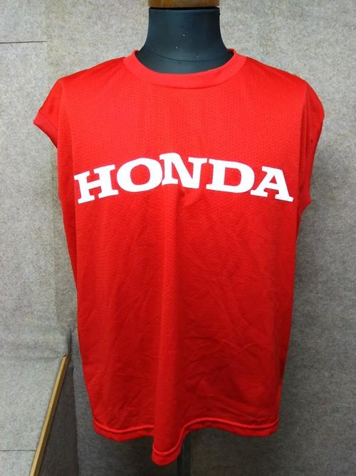 HONDA ホンダ タンクトップ 赤 ポリエステル u1474i