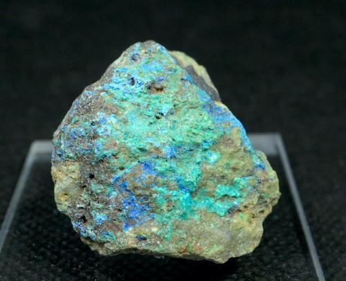 リナライト & カレドナイト 青鉛鉱 カレドニア石 23g LN020 鉱物 原石 天然石 パワーストーン