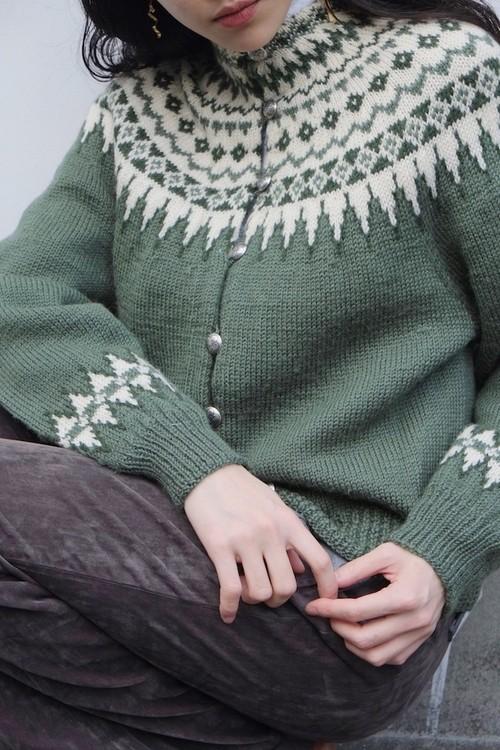 vintage/yuki no yume knit sweater.
