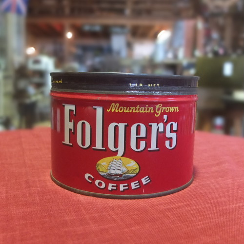 Can Box (Folger`s Coffee)