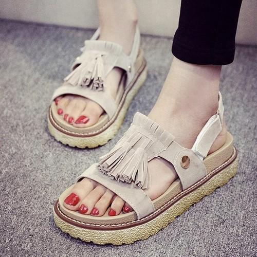 【お取り寄せ商品】retro fringe summer sandal 1380