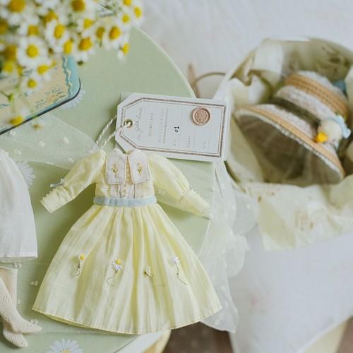 Le Petit Loriot 2020ss Daisy Dress for Blythe
