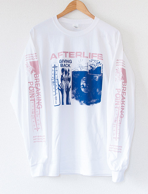 【AFTERLIFE】Giving Back The Pain Long Sleeve (White)