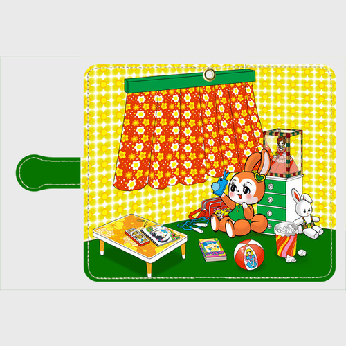 ✳️受注生産✳️ 手帳型Androidケース 自撮りに夢中