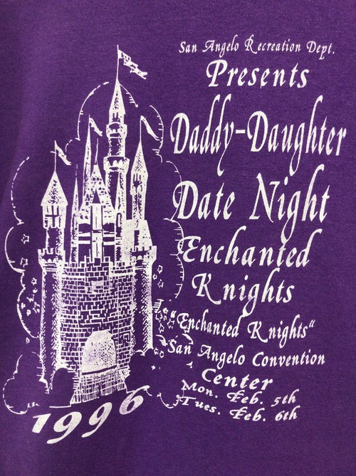 1996's Daddy-Daughter Date Night T's
