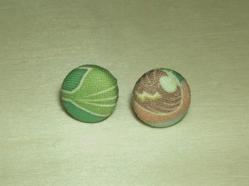 【コラボ】「ドブガイ類」柄2スタッド型ピアス