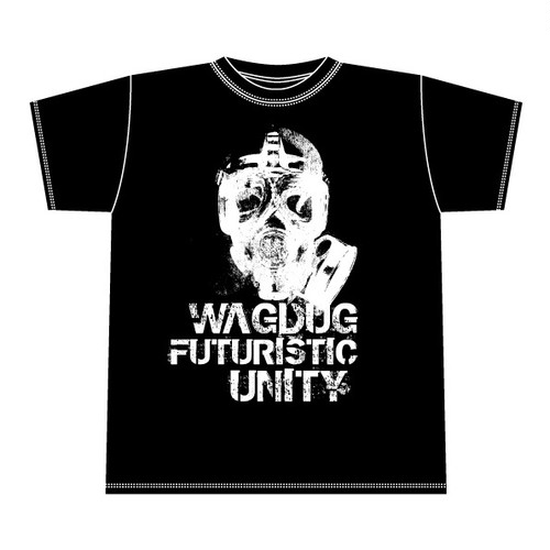 GASMASK T-Shirt [BLACK x WHITE][1405]