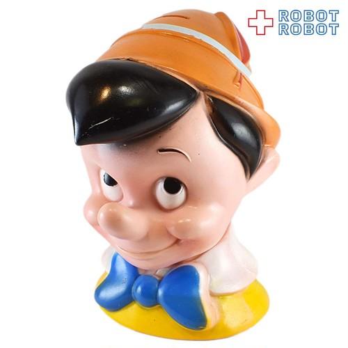 プレイパル ピノキオ ヘッド ソフビ貯金箱 20210429入荷