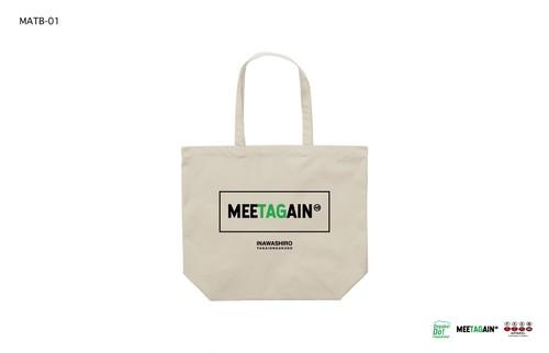 猪苗代野外音楽堂MEETAGAIN ロゴトートバッグ(MATB-01)