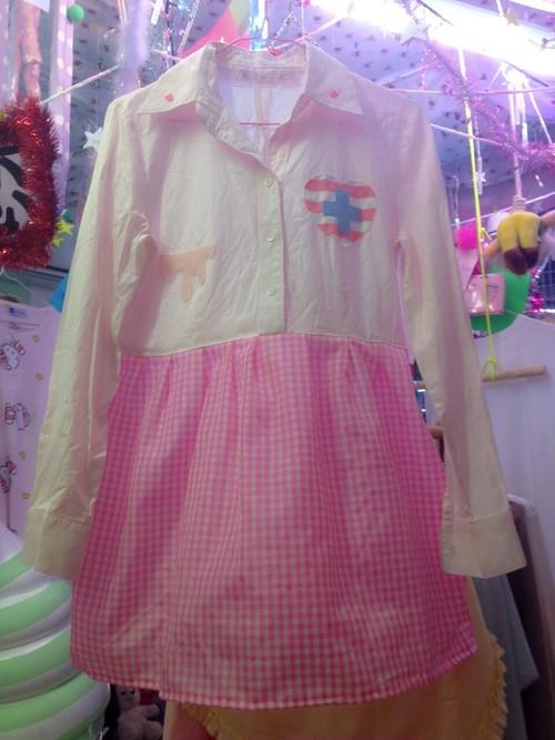 パステルカラーハートに十字架切り返しドレス/魔法都市東京