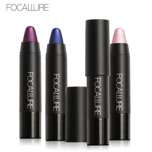 【Focallure】8color メタリックマットクレヨンリップ FA22METAL