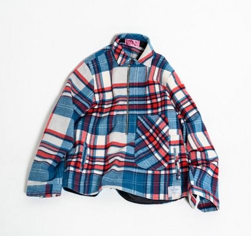 [予約商品]EFFECTEN(エフェクテン)Tartan check pullover jaket