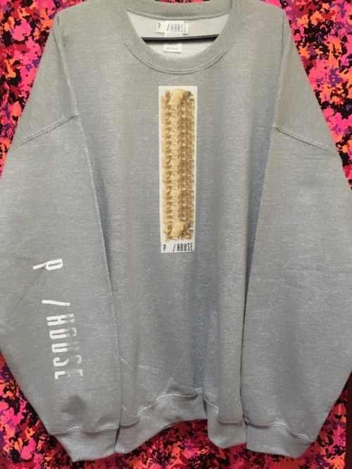 GOLD SUPER DUB sweat gray