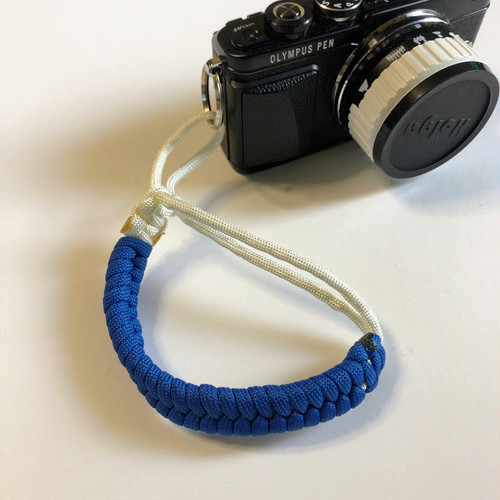 カメラストラップ パラコード Paracord Fishtail Camera Wrist Strap BW