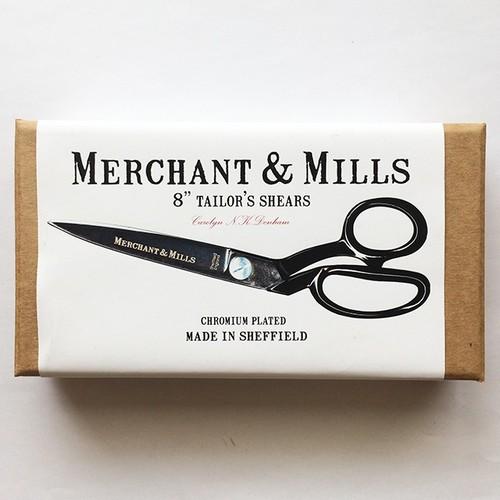 "<MERCHANT&MILLS> TAILOR'S SHEARS 8"" 裁ちバサミ21.5cm"