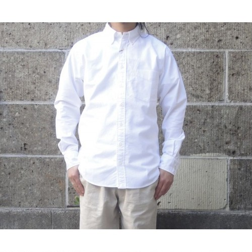 SERO (セロ) BUTTON DOWN SHIRTS L/S ox ホワイト