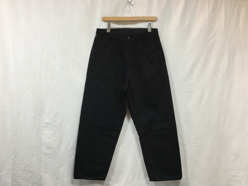 "bukht ""NEW BIG DENIME PANTS BLACK"""