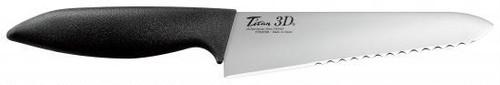 銀チタン3ポイント 3D包丁 3D-190