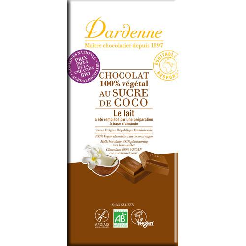 オーガニックアーモンドミルクチョコレート