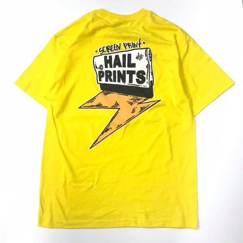 HAILPRINTS LOGO T-shirts (YELLOW)