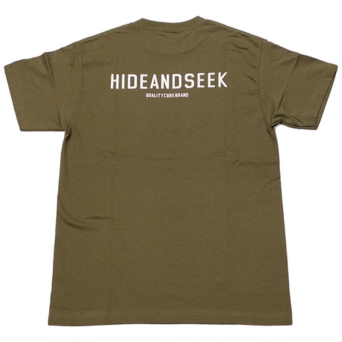 HIDEANDSEEK(ハイドアンドシーク) / HS POCKET S/S TEE(HT-060321)(ポケットTシャツ)
