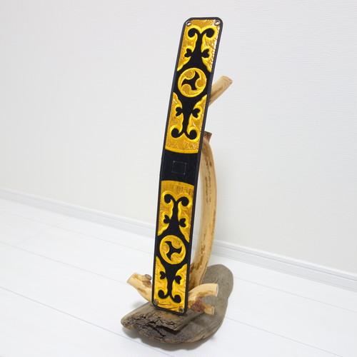 胴巻き(ティーガー) 御紋の刺繍 黒