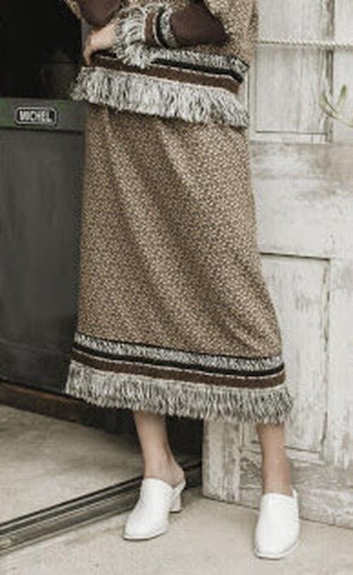 <ご予約>ヴルタヴァエプロンリボンスカート#THURIUM