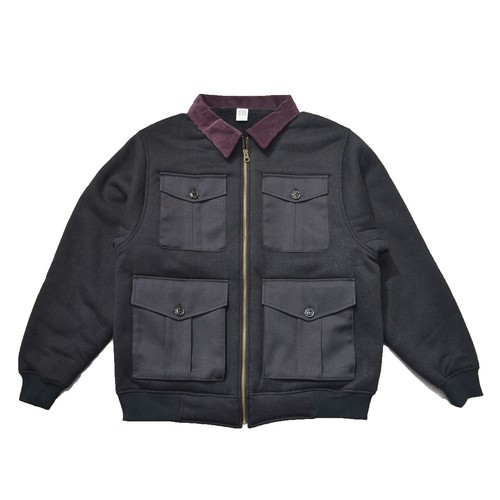 COMFOTABLE REASON (コンフォータブル リーズン) / BOA FLEECE PILOT JACKET -BLACK-