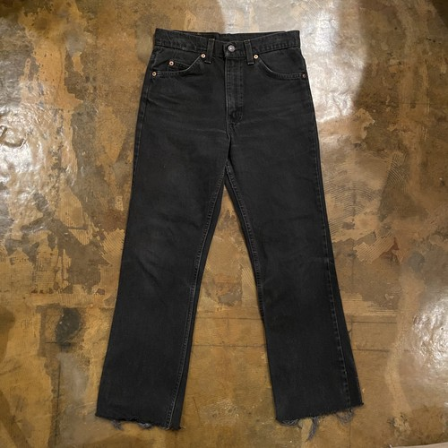 90s Levis Black Denim Pants 517 / USA