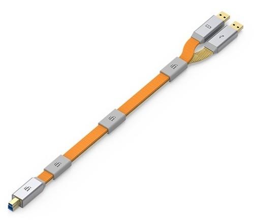 iFi-Audio(アイファイオーディオ) Gemini3.0 USB2.0(USB3.0AM+USB2.0BM)/0.7m【USBケーブル】≪定価販売ですが…≫