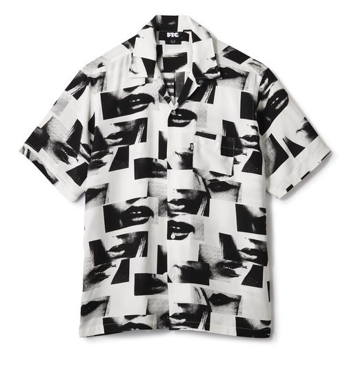 FTC(エフティーシー) / LIPS RAYON SHIRT -WHITE-