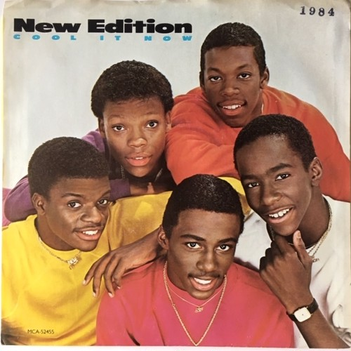New Edition ‎– Cool It Now