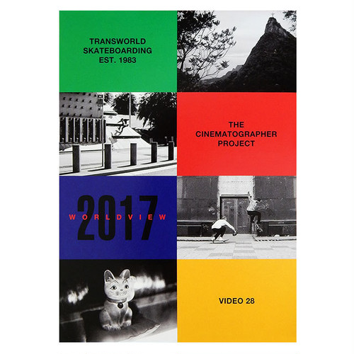 "TransWorld SKATEboarding - ""The Cinematographer Project 2017 World View"" DVD"