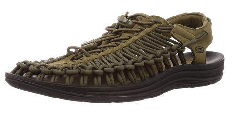 KEEN UNEEK DARKOLIVE/BLACK