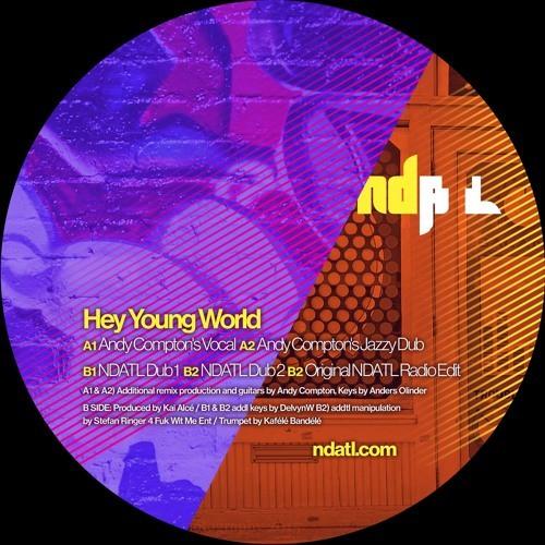 """【残りわずか/12""""】Kayenne - Hey Young World"""