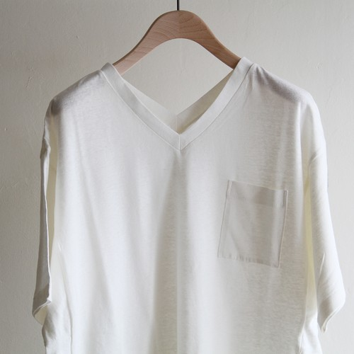 WRYHT 【 womens 】slit v-neck tee dress