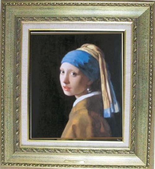 永遠のベストセラー フェルメール 「真珠の耳飾りの少女」別名「青いターバンの少女」」