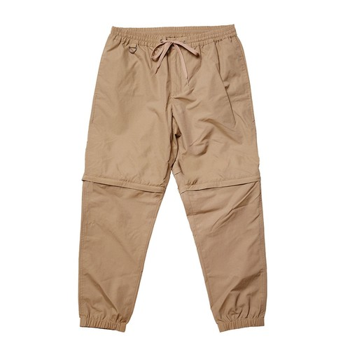 EVISEN TWO WAYS OUTTA BED PANTS  KHAKI L エビセン 2way パンツ