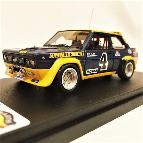 FIAT 131 ABARTH RALLY OLIO FIAT1/43【1個のみ】【税込価格】
