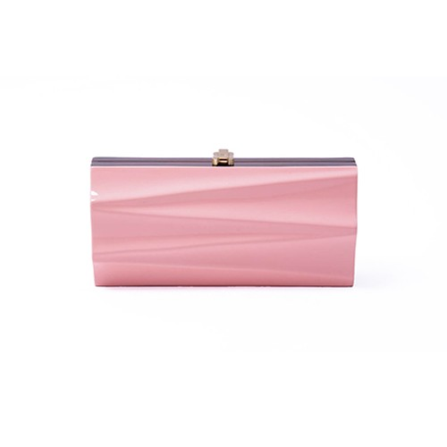 Milano Clutch – salmon