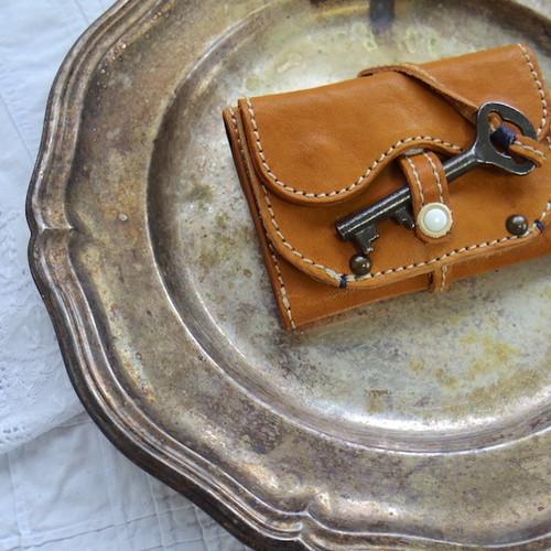 Morfeo - mini wallet / Camel-B