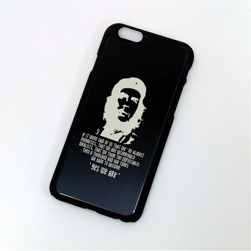iPhone 6 ケース チェ・ゲバラ ブラックアルマイト