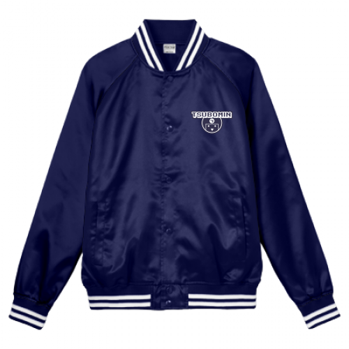 TSUBOMIN / TSUBOMIN ICON STADIUM JACKET NAVY