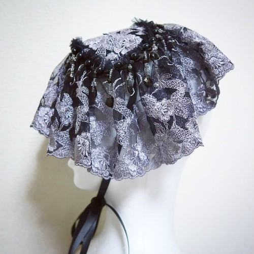 "「Aithēr ""Gray""」 minori's handmade head-dress"