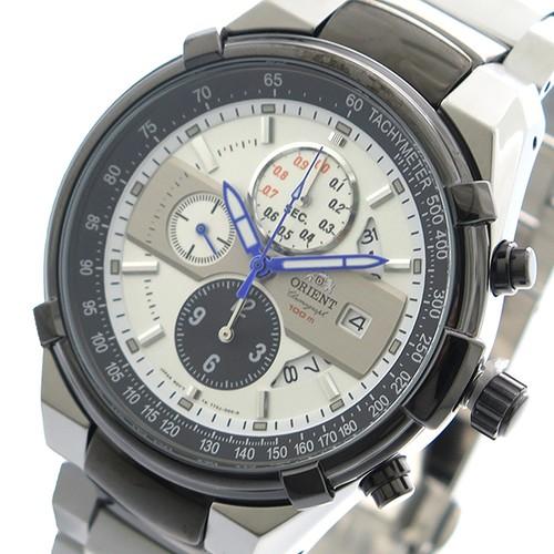 オリエント ORIENT 腕時計 メンズ FTT0J003W0 クォーツ ホワイト シルバー ホワイト