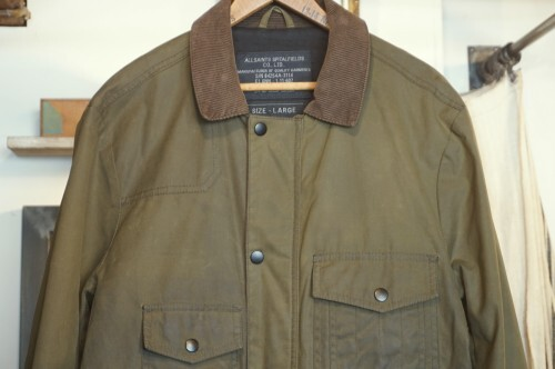 ALLSAINTS waxed cotton Jacke