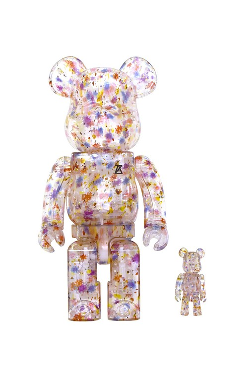ANREALAGE FLOWER BE@RBRICK / 400% & 100%