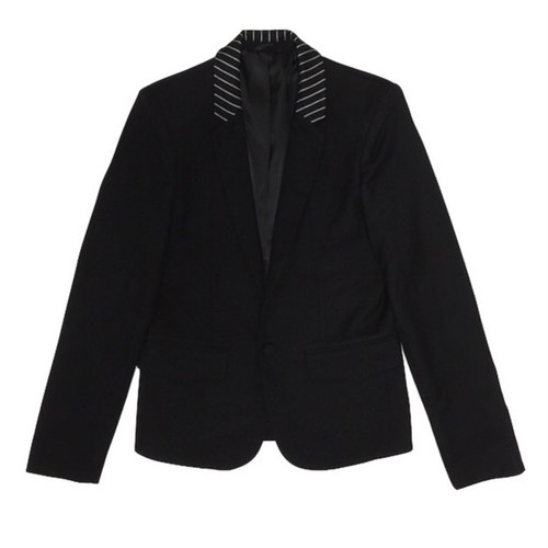 ILL IT - STRIPE COLLAR JACKET -